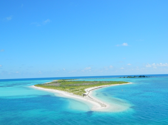 One of many incredible views at Fort Jefferson