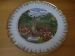 Hand-Painted Collector Plate