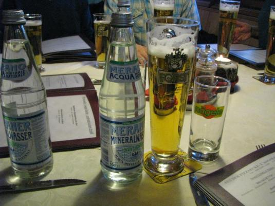 Forst Beer and MineralVasser
