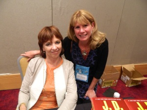 Fan Girl Moment with THE Nora Roberts