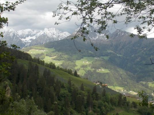 Can you see the Austrian Alps?