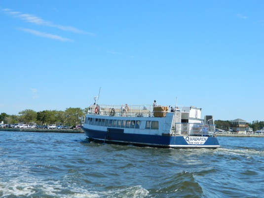 A Fire Island Ferry