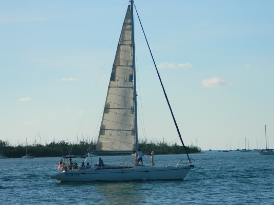 Sailing in Key West Harbor