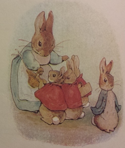 Illustration from Peter Rabbit